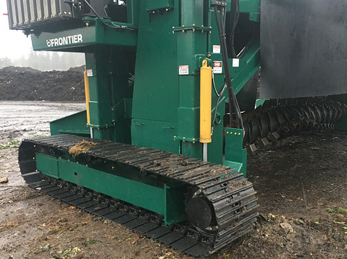 Frontier Industrial Compost Windrow Turners Track Drive