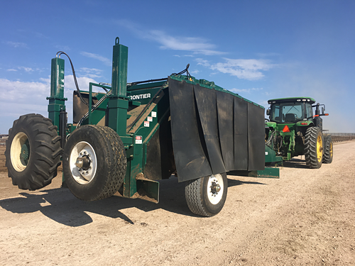 Frontier Industrial Compost Windrow Turners