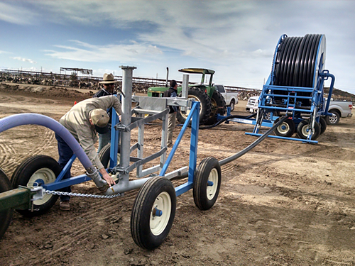 Frontier Industrial Compost Windrow Watering Systems